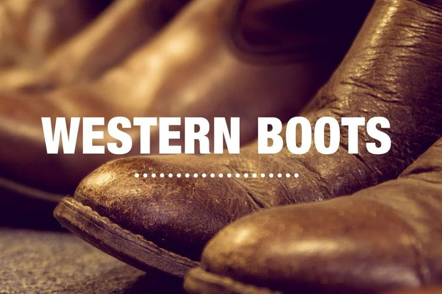 Pair Of Western Boots